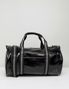 Черная классическая сумка Fred Perry - Черный