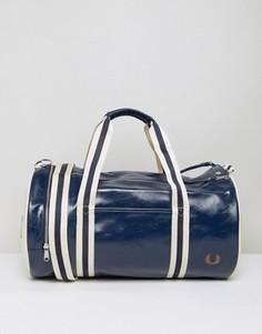 Синяя классическая сумка Fred Perry - Синий