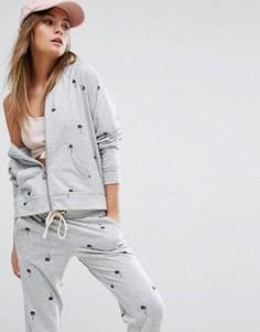 Худи из махровой ткани Juicy By Juicy Couture - Серый