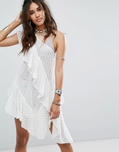 Туника Free People Girls Girls Girls - Белый