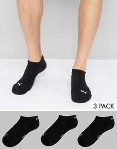 3 пары черных спортивных носков Puma 261080001200 - Черный