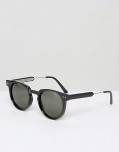 Черные солнцезащитные очки Spitfire - Черный