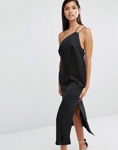 Платье-комбинация на тонких бретелях Finders Keepers - Черный