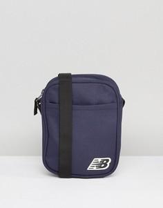 Темно-синяя сумка для авиапутешествий New Balance - Темно-синий
