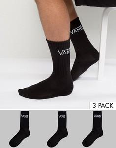 3 пары классических носков Vans VXRZBLK - Черный