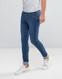 Синие джинсы из органического хлопка Dr Denim Leroy - Синий