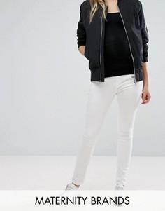 Эластичные джинсы скинни Isabella Oliver Zadie - Белый
