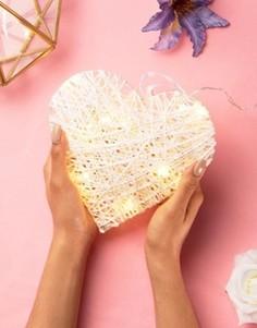 Светящееся украшение в виде сердца Sass & Belle - Мульти