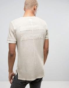 Светло-бежевая футболка Black Kaviar - Бежевый