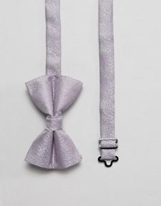 Фактурный галстук-бабочка лилового цвета ASOS - Фиолетовый