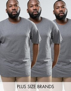 Набор из 3 футболок Dickies PLUS - Серый