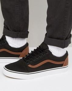 Черные кроссовки Vans Old Skool VA38G1MMK - Черный