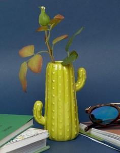 Миниатюрная ваза в форме кактуса Temerity Jones - Мульти