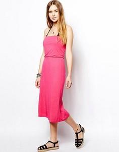 Розовое платье с 3 способами ношения Marie Meili Malibu - Розовый