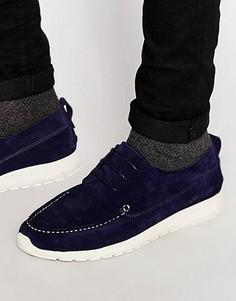 Замшевые кроссовки Shoe The Bear Ohh - Темно-синий