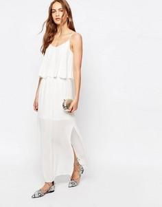 Платье макси Only - Белый