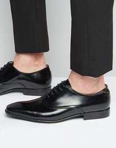 Блестящие оксфордские туфли Paul Smith Starling - Черный