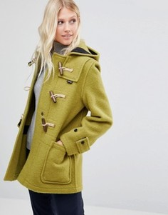 Зеленое пальто миди Gloverall Monty - Зеленый