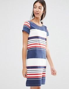 Цельнокройное платье в разноцветную полоску Vila - Мульти