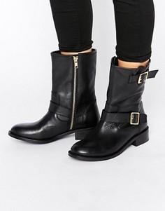 Кожаные байкерские ботинки Carvela - Черный