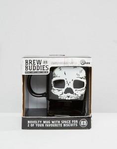 Кружка с черепом Brew Buddies - Мульти Gifts