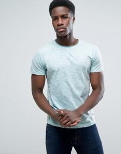 Меланжевая футболка Solid - Зеленый