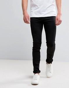 Черные зауженные джинсы Cheap Monday - Черный
