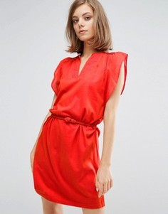 Платье-туника с отделкой Vanessa Bruno Athe - Красный