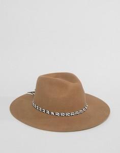 Фетровая шляпа Brixton Midland - Рыжий