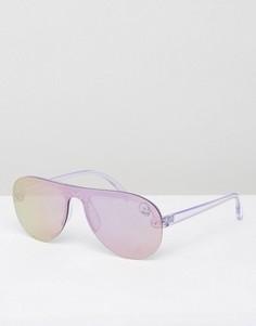 Зеркальные очки-авиаторы Cheap Monday - Фиолетовый