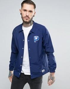 Темно-синяя спортивная куртка из нейлона с логотипом Penfield Howard - Темно-синий