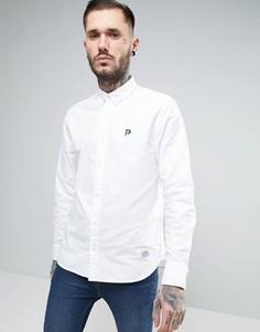 Белая оксфордская рубашка классического кроя Penfield Porterville - Белый