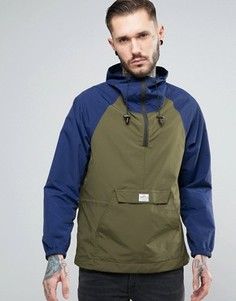 Двухцветная куртка через голову с капюшоном Penfield Pac Jac - Темно-синий