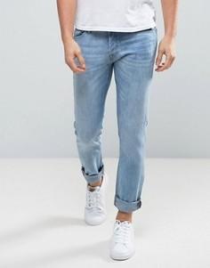 Синие джинсы слим Jack & Jones Intelligence - Синий