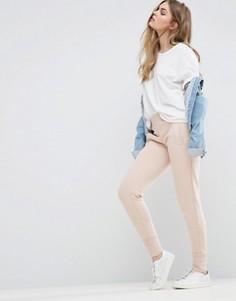 Суженные книзу брюки Vila - Розовый