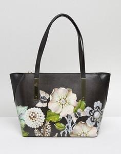 Компактная сумка для покупок Ted Baker Gem Gardens - Черный