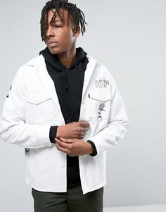 Куртка с принтом HUF - Белый