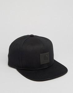 Бейсболка с логотипом Carhartt WIP - Черный