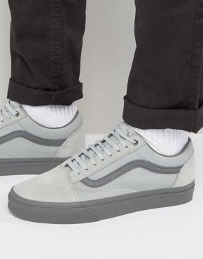 Серые кроссовки Vans Old Skool VA38G1MOM - Серый