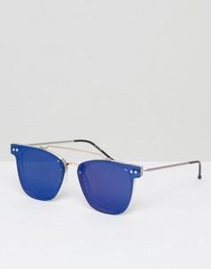 Солнцезащитные очки с зеркальными стеклами Spitfire - Прозрачный