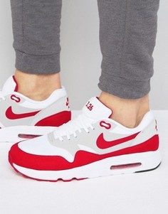 Белые кроссовки Nike Air Max 1 Ultra 2.0 908091-100 - Белый