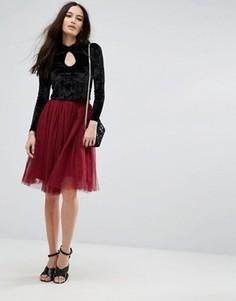 Тюлевая юбка Boohoo - Красный
