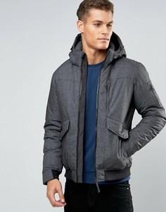 Короткая куртка с карманами Esprit - Серый