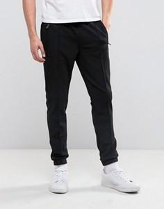 Спортивные брюки скинни с подворотами Bellfield - Черный