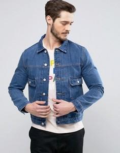 Синяя джинсовая куртка PS by Paul Smith - Синий