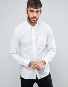 Узкая рубашка с карманом Levis Sunset - Белый Levis®