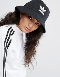 Черная панама с логотипом adidas Originals - Черный