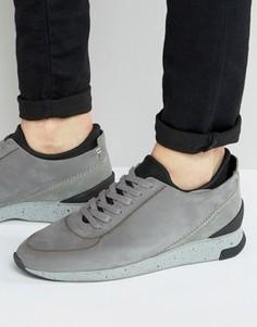 Кожаные кроссовки Hudson London Sime - Stone