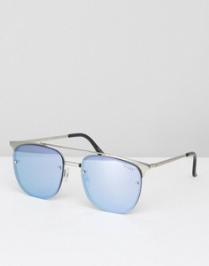 Солнцезащитные очки Quay Australia Private Eve - Синий