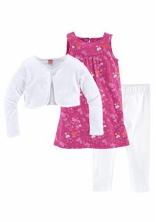 Комплект: болеро + платье + легинсы KIDOKI